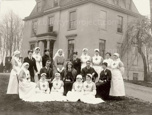 1917 Caldergrove nurses wm