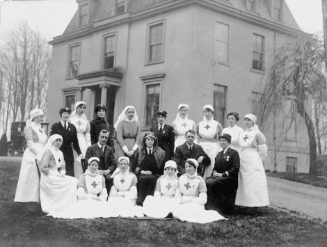 1917 Caldergrove nurses