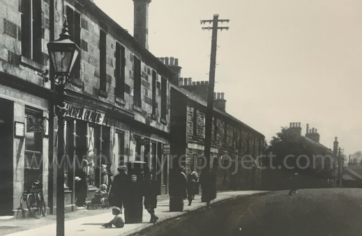 1920s Main street post office wm