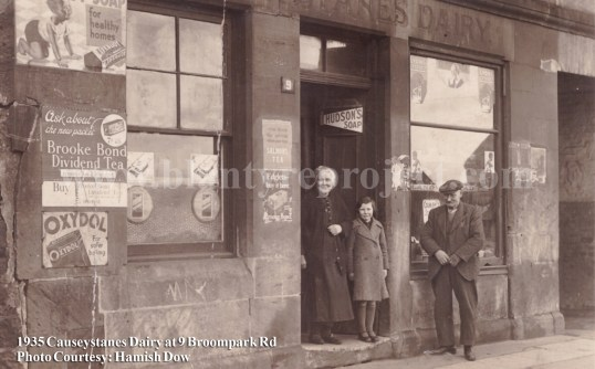 1935 Malcolm Dow Causeystanes Dairy wm