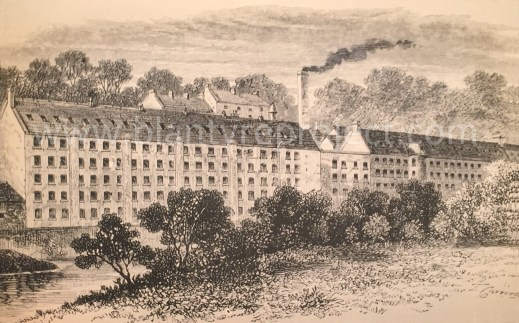 1890s Blantyre Works Mills wm