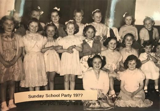 1950s Sunday School party