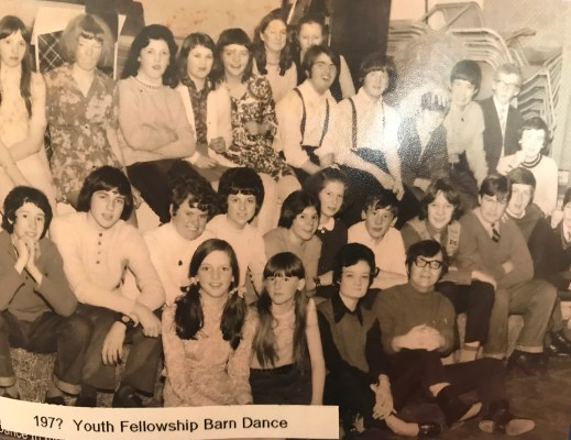 1970s Youth Fellowship Barn Dance