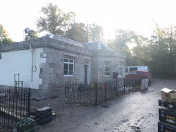 2017 Gate Lodge Crossbasket renovation