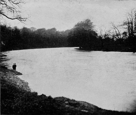 1903 April 4 Park Burn outfall under water