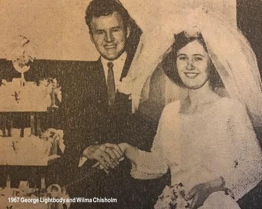 1967 Wilma Chisholm & George Lightbody
