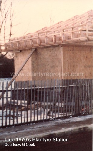 Late 1970s Construction Blantyre Station