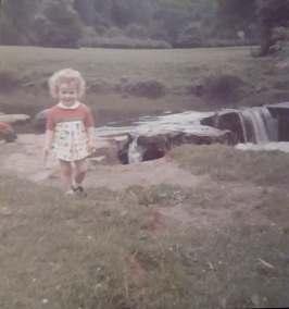 1974 Avril Keenan at Milheugh