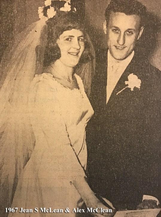 1967 Jean McLean & Alex McClean wm