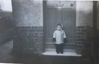 1950 Elizabeth Weaver as toddler
