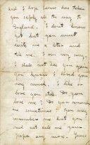 Livingston letter to son Robert 1852 2