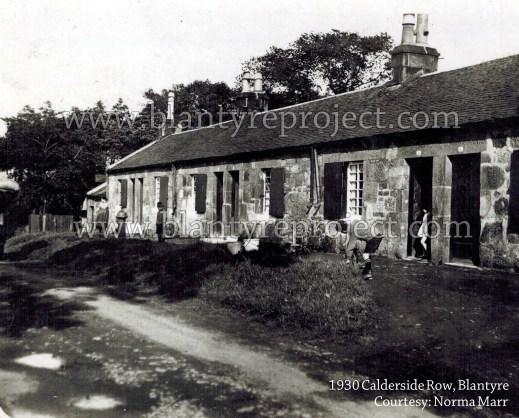 1930 Blantyre Calderside Row Housing wm