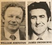 1979 Council CEO William Johnson and Clr James Swinburne