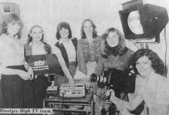 1979 Blantyre High TV Team