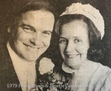 1979 Philip Brown & Janette Cumberford