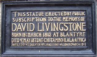 2018 Livingstone plaque 1