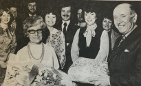 1979 May Cowan Retires from Unemployment office