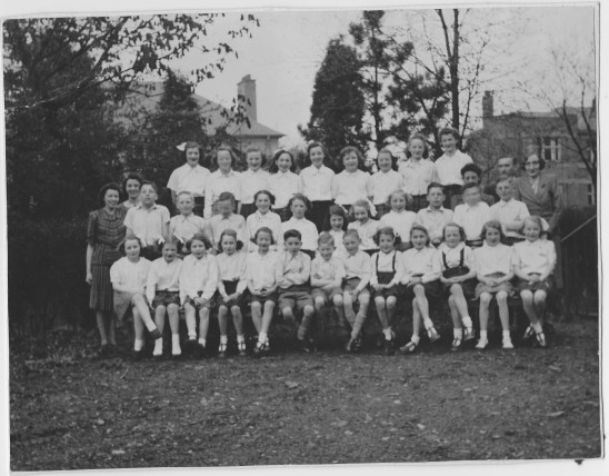 1944 first junior choir Livingstone Church 1944