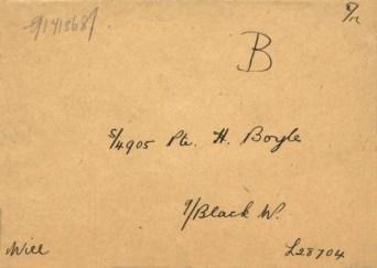 1915 Hugh Boyle Will