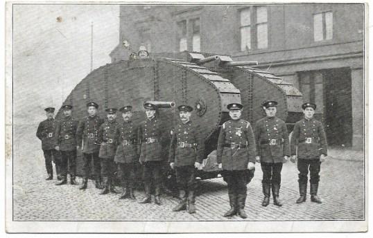 1917 ww1 tanks