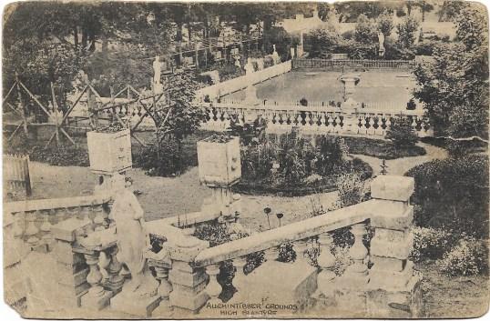 1920s Auchentibber gardens