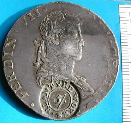 1814 Reales Silver Token form Eric Hodge