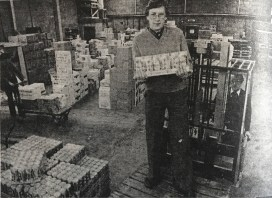 1980 Jim Botterill Junior at new warehouse