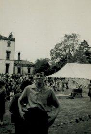 1950s Jim Rochead at Crossbasket