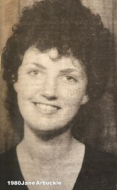 1980 Jane Arbuckle
