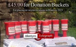 donation buckets
