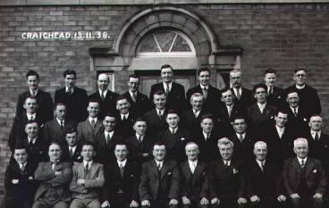 1938 Men at Craighea Retreat