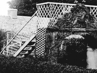 1910s Rustic Arch & Stairs at Auchentibber