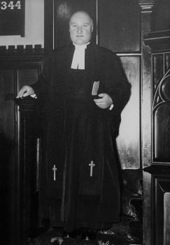 Rev George Dickson of Burleigh Church