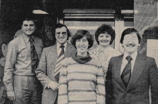 1978 Glen Travel Staff