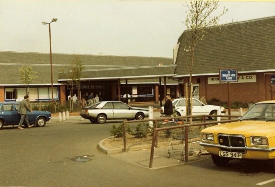 1985 Asda Entrance