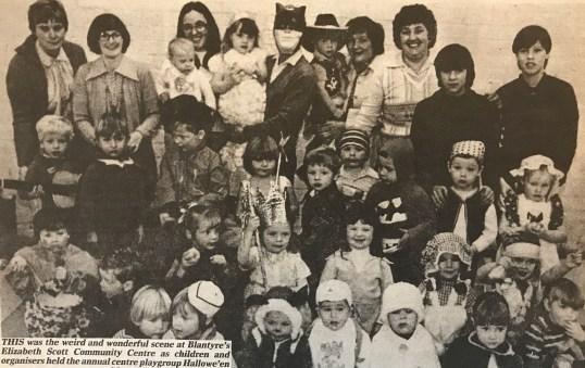 1980 Halloween Party at Elizabeth Scott Centre