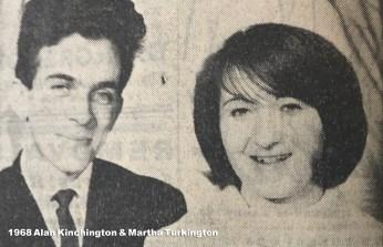 1968 Alan Kinchington & Martha Turkington