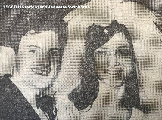 1968 Jeanette Swinborne & RH Stafford
