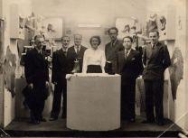 1950's Blantyre Co-Op shoe dept. Jim Watson on right