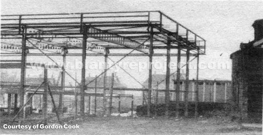 1981 Sports Centre being built wm