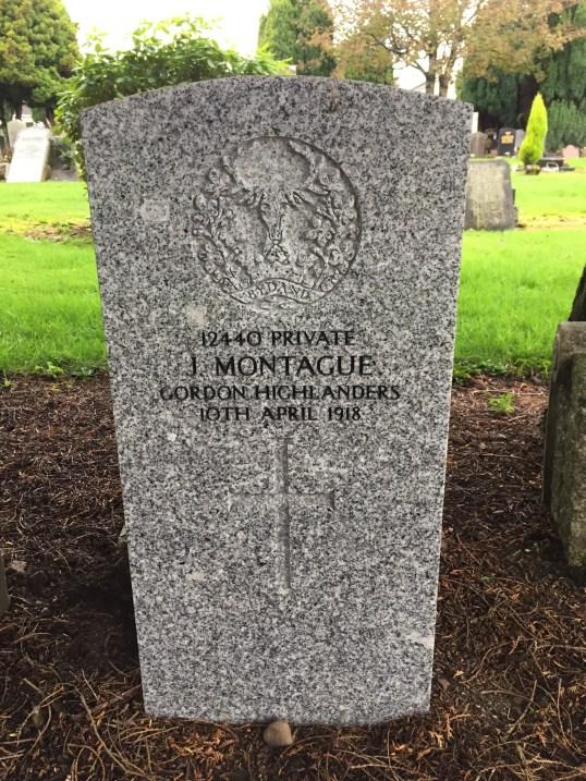John Montague grave Blantyre