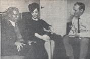 1968 George Matewere meets John Wilson of Blantyre