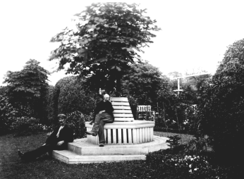1910s Auchentibber Seating Area James Nimmo (PV)