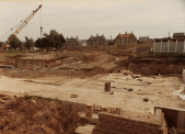 1980 Building the sports centre