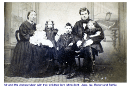 1867 Andrew Mann and family