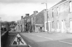 1975 Demolition of Hunthill Rd Tenements