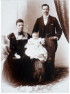 1900 Jane, Matthew and Thia Campbell