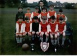 1979 Red Rockets Football Team at Kirkton. Photo P Murray