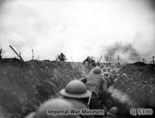 1917 Scottish Rifles during WW1 (Picture courtesy of Imperial War museum. Not for commercial use)