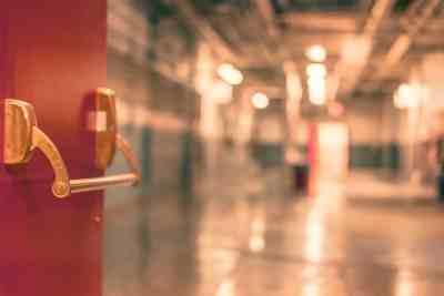 open door to school